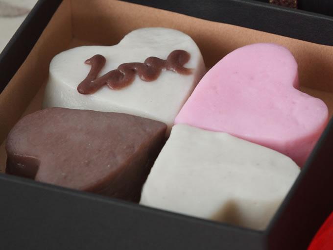 ハート型かまぼこバレンタインギフト