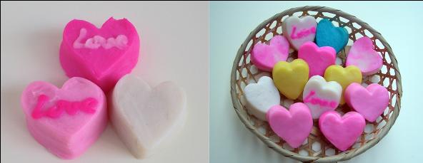 バレンタインにはインパクトあるハート型蒲鉾を!