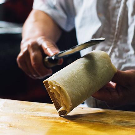 蒲鉾手作り